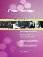 Open learning A Complete Guide