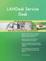 LANDesk Service Desk Standard Requirements