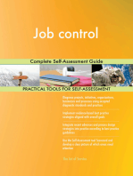 Job control Complete Self-Assessment Guide