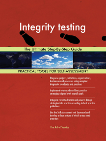 Integrity testing The Ultimate Step-By-Step Guide