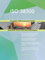 ISO 38500 Complete Self-Assessment Guide