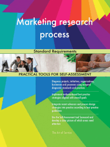 Marketing research process Standard Requirements
