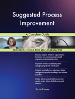 Suggested Process Improvement A Complete Guide