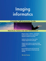 Imaging informatics Complete Self-Assessment Guide