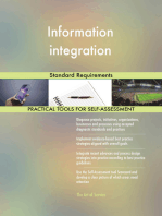 Information integration Standard Requirements