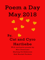 Poem a Day May 2018