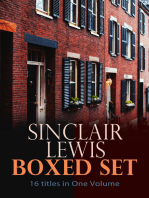 Sinclair Lewis Boxed Set – 16 titles in One Volume