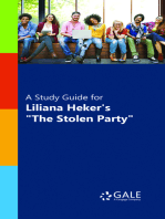 "A Study Guide for Liliana Heker's ""The Stolen Party"""