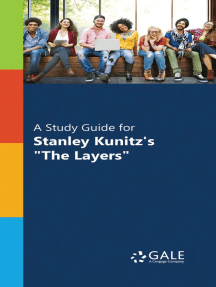 "A Study Guide for Stanley Kunitz's ""The Layers"""