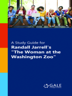 """A Study Guide for Randall Jarrell's """"The Woman at the Washington Zoo"""""""