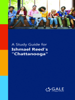 """A Study Guide for Ishmael Reed's """"Chatanooga"""""""