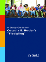 """A Study Guide for Octavia Butler's """"Fledgling"""""""