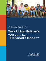 "A Study Guide for Tess Uriza Holthe's ""When the Elephants Dance"""