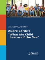 "A Study Guide for Audre Lorde's ""What My Child Learns of the Sea"""