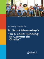 """A Study Guide for N. Scott Momaday's """"To a Child Running in Canyon de Chelly"""""""