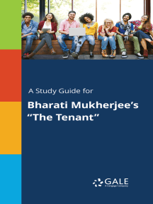 """A Study Guide for Bharati Mukherjee's """"The Tenant"""""""