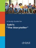 """A Study Guide for Saki's """"The Storyteller"""""""