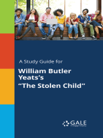 "A Study Guide for William Butler Yeats's ""The Stolen Child"""