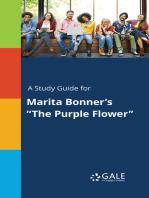"A Study Guide for Marita Bonner's ""The Purple Flower"""
