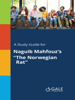 "A Study Guide for Naguib Mahfouz's ""The Norwegian Rat"""