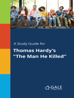 "A Study Guide for Thomas Hardy's ""The Man He Killed"""