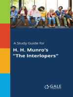 "A Study Guide for H. H. Munro's ""The Interlopers"""