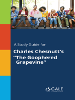 """A Study Guide for Charles Chesnutt's """"The Goophered Grapevine"""""""