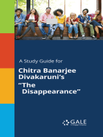 "A Study Guide for Chitra Banarjee Divakaruni's ""The Disappearance"""