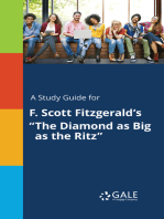 """A Study Guide for F. Scott Fitzgerald's """"The Diamond as Big as the Ritz"""""""