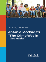 "A Study Guide for Antonio Machado's ""The Crime Was in Granada"""