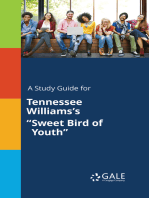 "A Study Guide for Tennessee Williams's ""Sweet Bird of Youth"""