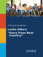 "A Study Guide for Leslie Silko's ""Story from Bear Country"""