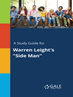 "A Study Guide for Warren Leight's ""Side Man"""