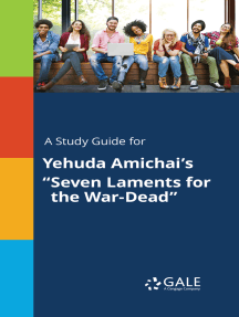 "A Study Guide for Yehuda Amichai's ""Seven Laments for the War-Dead"""