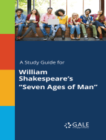 "A Study Guide for William Shakespeare's ""Seven Ages of Man"""