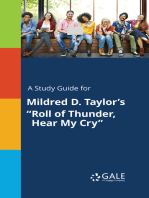 """A Study Guide for Mildred D. Taylor's """"Roll of Thunder, Hear My Cry"""""""