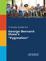 """A Study Guide for George Bernard Shaw's """"Pygmalion"""""""
