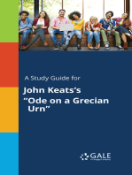 "A Study Guide for John Keats's ""Ode on a Grecian Urn"""