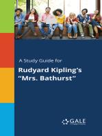 """A Study Guide for Rudyard Kipling's """"Mrs. Bathurst"""""""