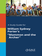 "A Study Guide for William Sydney Porter's ""Mammon and the Archer"""