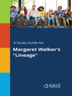 "A Study Guide for Margaret Walker's ""Lineage"""