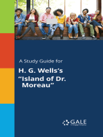 "A Study Guide for H. G. Wells's ""Island of Dr. Moreau"""