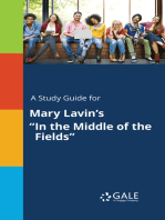 """A Study Guide for Mary Lavin's """"In the Middle of the Fields"""""""