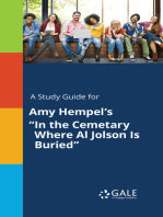 "A Study Guide for Amy Hempel's ""In the Cemetary Where Al Jolson Is Buried"""