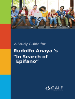 """A Study Guide for Rudolfo Anaya 's """"In Search of Epifano"""""""