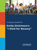 "A Study Guide for Emily Dickinson's ""I Died for Beauty"""