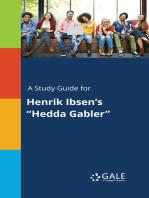 """A Study Guide for Henrik Ibsen's """"Hedda Gabler"""""""