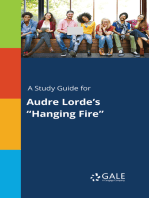 """A Study Guide for Audre Lorde's """"Hanging Fire"""""""