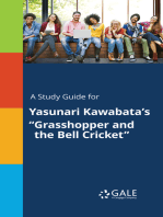 "A Study Guide for Yasunari Kawabata's ""Grasshopper and the Bell Cricket"""