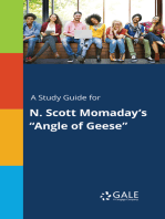 "A Study Guide for N. Scott Momaday's ""Angle of Geese"""